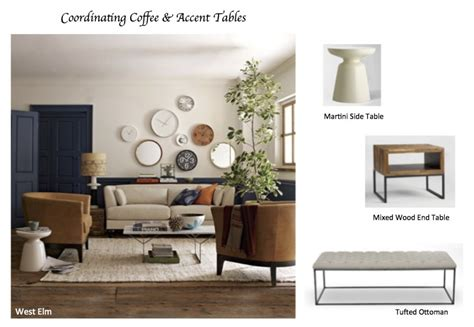 elm mixed wood coffee table how to coordinate coffee accent tables like a designer