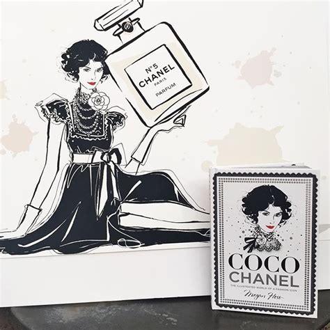 libro coco chanel the illustrated sortie du livre de l illustratrice megan hess esprit de gabrielle