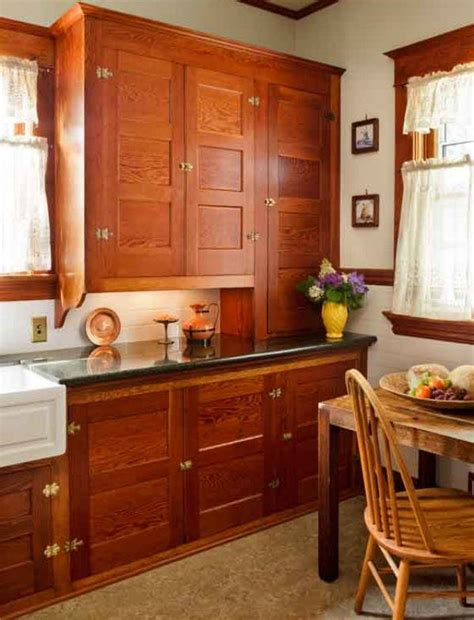 craftsman style kitchen cabinets best 25 mission style kitchens ideas on pinterest