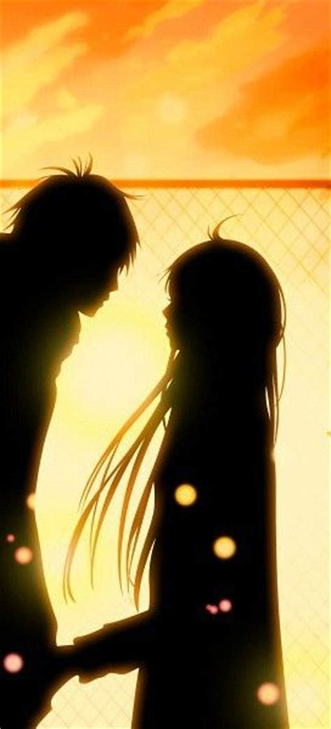 anime couple at sunset cute anime couple sunset anime couples and love quotes