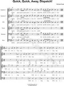 lyrics dispatch michael east quot away dispatch quot ssatbb choir