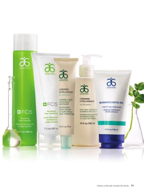 Arbonne Seasource Detox Spa Fortifying Hair Mask by Arbonne Catalog May 2015 Canada