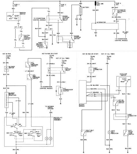 Wrg 3124 1988 Dodge Dakota Engine Diagram