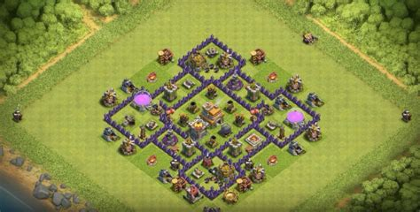 Hd Town Hall 7 | 17 th7 to th11 farming trophy war base layouts for