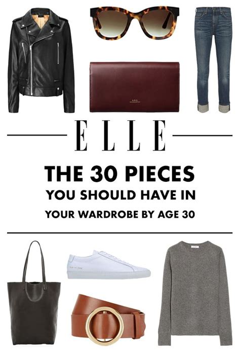 Wardrobe Essentials For In Their 30s by 30 Wardrobe Essentials You Should Own By 30 Garderob