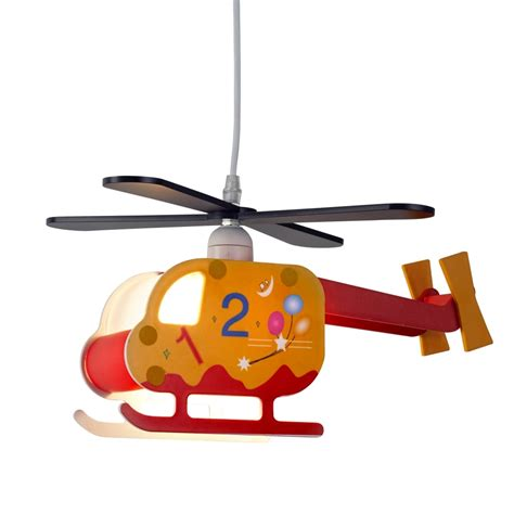 Helicopter Ceiling Light Searchlight Lighting Novelty Children S Single Light Helicopter Ceiling Pendant With Numbered