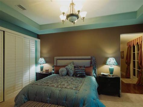blue and brown color scheme for bedroom photo page hgtv