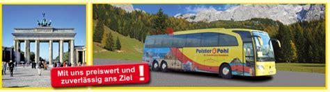 polster und pohl reisen polster und pohl reisen busanmietung