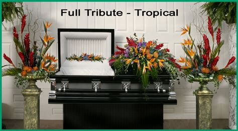 newcomer funeral home floral selection