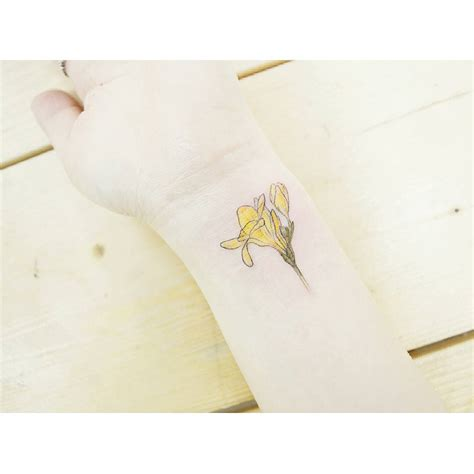 freesia flower tattoo designs freesia flower best ideas gallery
