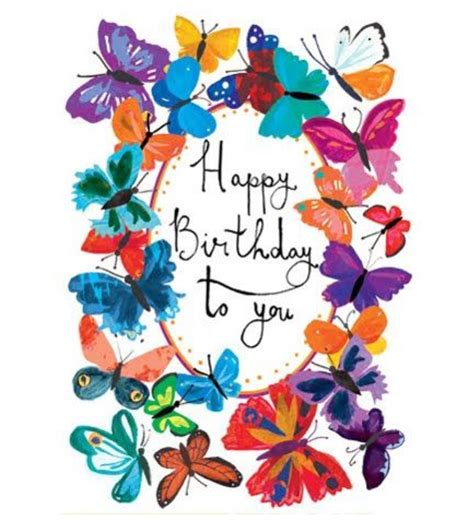 Happy Birthday Wishes Butterfly Happy Birthday Butterflies Birthdays Pinterest Happy