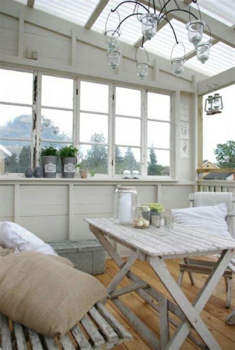 veranda holzboden esszimmer idee wintergarten