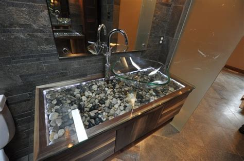 River Rock Bathroom Ideas by Ther River Rock Vanity Gave Me Goosebumps