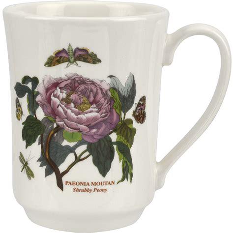 portmeirion botanic garden flared tankard mug peony