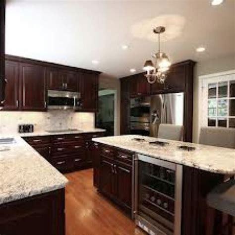 river white granite with white cabinets river white granite with espresso cabinets my drem home