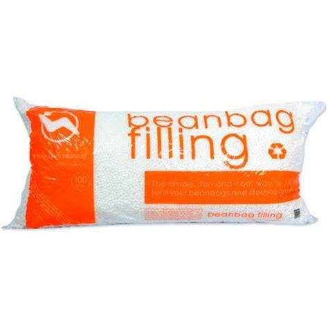 comfort research bean bag fill popped polystyrene bean bag refill 3 5 cubic feet