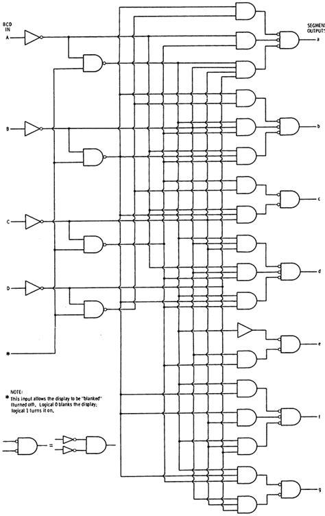 logic diagram of decoder 4 bit decoder schematic get free image about wiring diagram