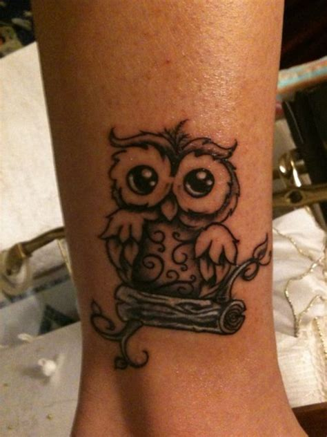 tattoo owl small owl outline shading tattoo picture at checkoutmyink com