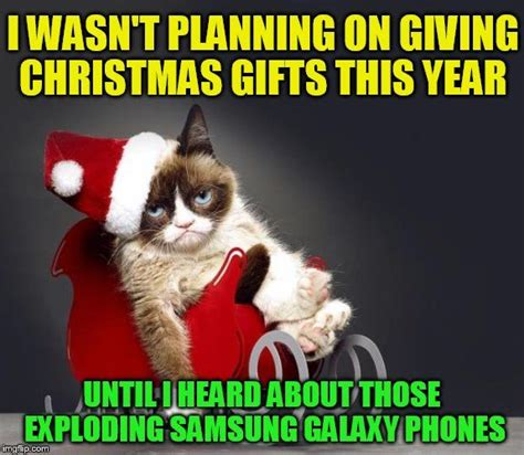 Christmas Gift Meme - 1000 ideas about grumpy cat on pinterest grumpy cat