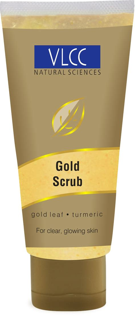 Scrub Gold vlcc sciences gold scrub herbal market himalaya