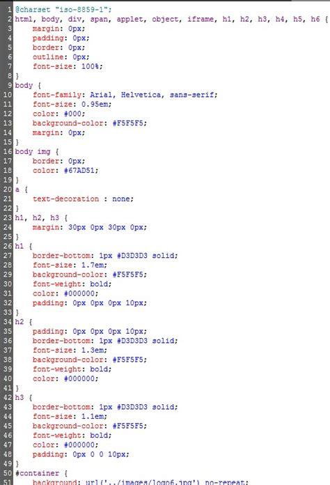 Exle Resume Exle Css Stylesheet Css Stylesheet Template