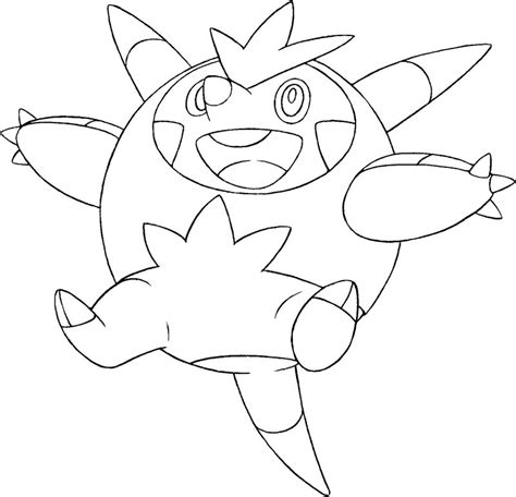 free coloring pages of pokemon x and y