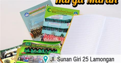 sebutkan minimal 5 format buku digital nirwana digital print cetak buku tulis sekolah murah