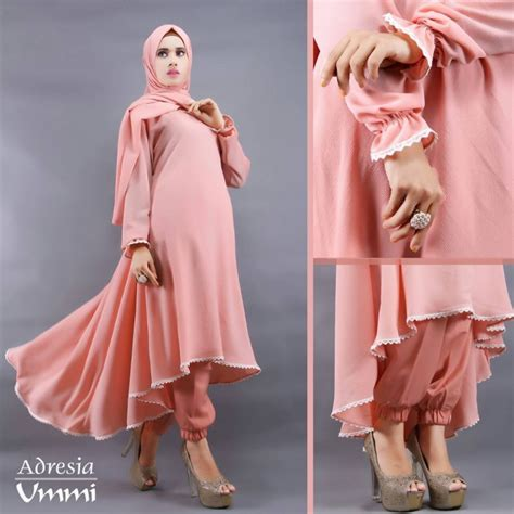 Fashion Modern Modis Moeza Dress Black Gamis Terbaru Murah baju gamis modern model gamis terbaru model gamis