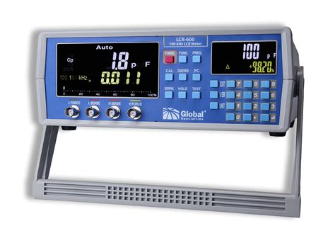 precision resistance meter lcr 600 100 khz high precision lcr meter