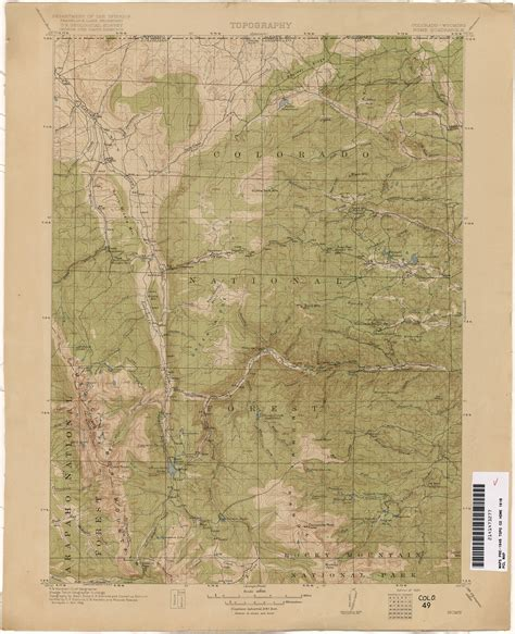 colorado historical topographic maps perry casta 241 eda map