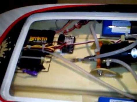 rc boat drive shaft setup apparition rc boat setup youtube