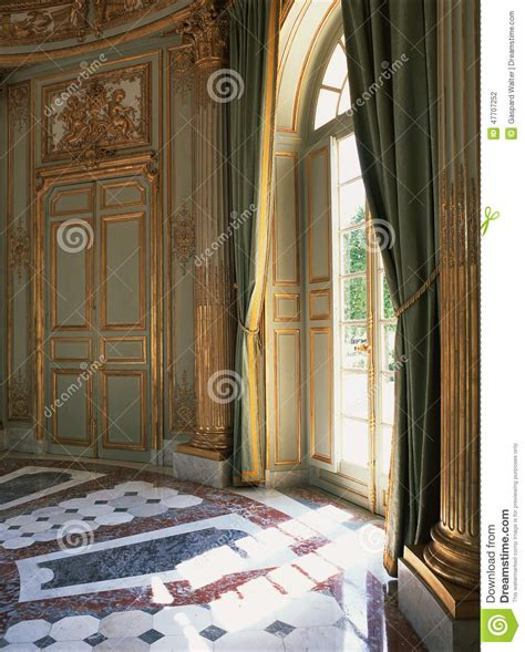 versailles curtains large window curtains and marble floor at versailles