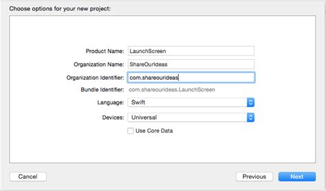 xcode project layout how to replace launch images with storyboard or xib in