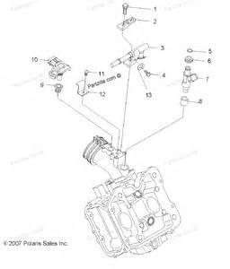 polaris atv parts 2011 r11rh50ag ah ar ranger 4x4 500 efi engine fuel injection diagram