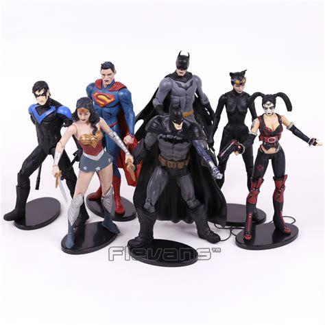 Superman Batman Wonderwoman Krypto Pvc Statue dc comics injustice league superman batman nightwing harley quinn pvc