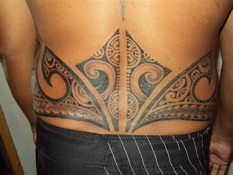 lower back tattoos for men abdomen