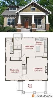 small cottage floor plans craftsman bungalow plan 1584sft plan 461 6 small house plans pinterest craftsman house