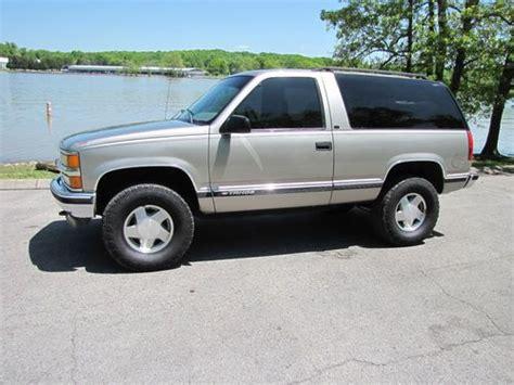 1999 Chevy Tahoe 2 Door by Purchase Used 1999 Chevrolet Tahoe Lt Sport Utility 2 Door