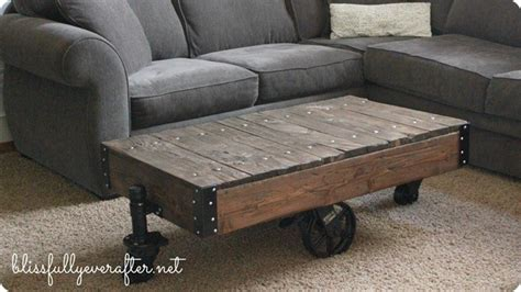Restoration Hardware Cart Coffee Table Factory Cart Table