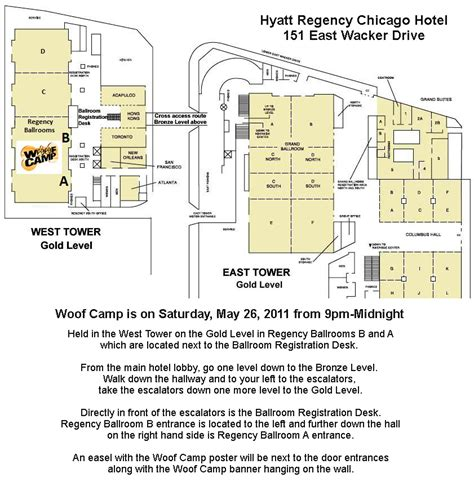 Hyatt Regency Chicago Floor Plan | woof c 2012