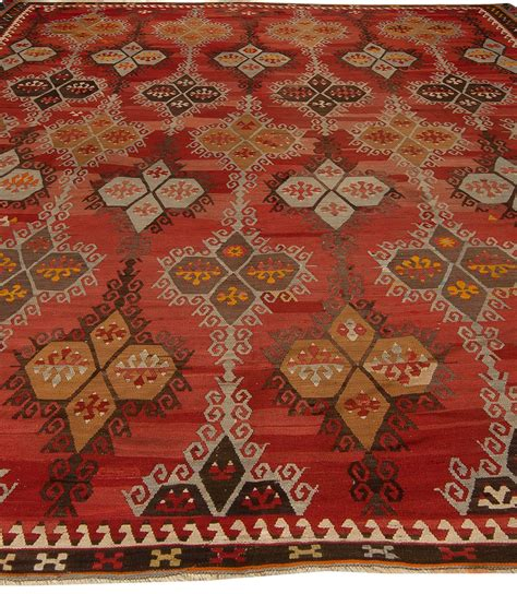 Rug Rug by Antique Turkish Kilim Rug Bb5428 By Doris Leslie Blau