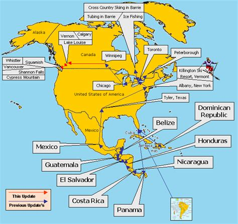 america map with country names drew s walkabout