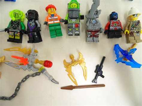Lego Animal Accessories lot of 25 random lego minifigures assorted accessories animals ebay