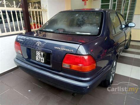 All New Corolla 1 6 Seg 1996 toyota corolla 1996 seg 1 6 in kuala lumpur automatic