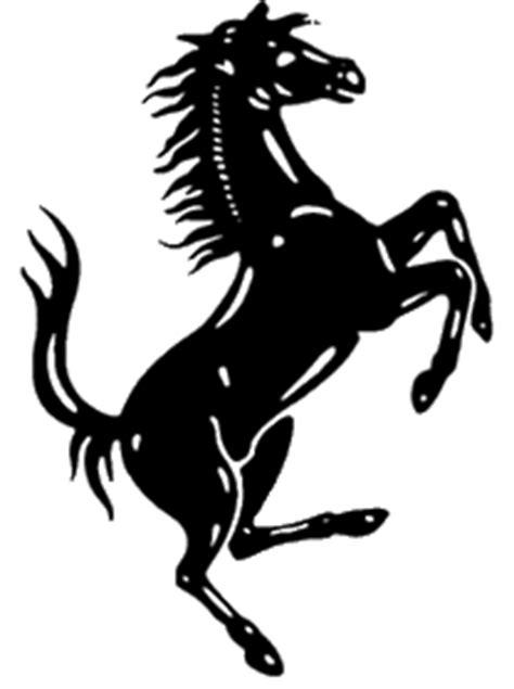 Aufkleber Ferrari Pferd by Ferrari Aufkleber Ferrari Flagge