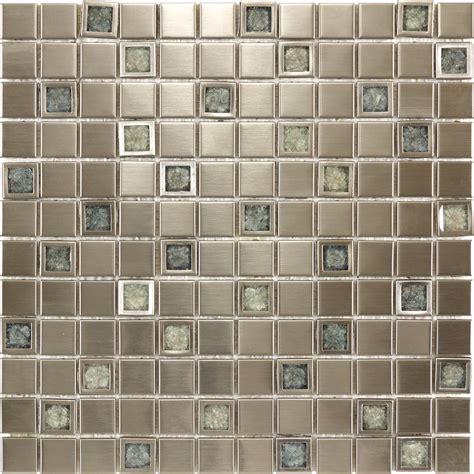 kitchen bathroom aluminium ceramic inlaid with blue crackle glass mosaic tile ebay