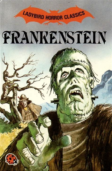 frankenstein books frankenstein ladybird book horror classic edition