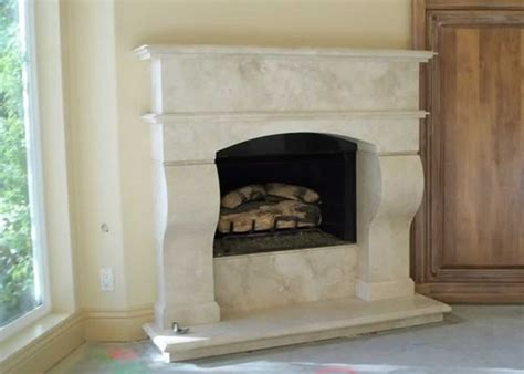 Travertine Marble Fireplaces Fireplaces Travertine Fireplace Hearth