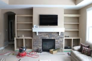 Bookshelves Ikea by Diy Built In Bookshelves Around Fireplace American Hwy
