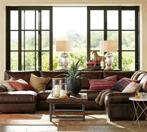 pottery barn chaise pottery barn leather furniture sale must haves save 20